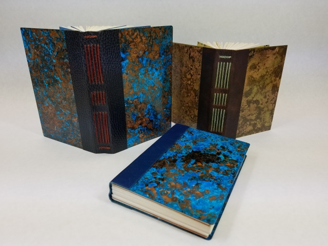 Metal books Penland